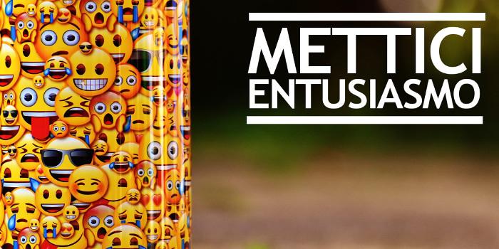 Entusiasmo in azienda per imprenditori, manager e venditori